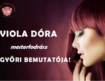 Fodrász bemutató Viola Dórával!